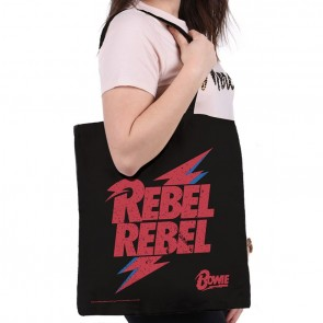 David Bowie Rebel Rebel Tote Bag