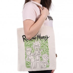 Rick and Morty Portal Tote Bag