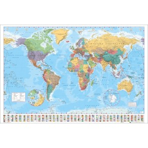 World Map Maxi Poster