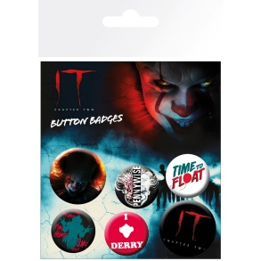 IT Chapter 2 Pennywise Badge Pack