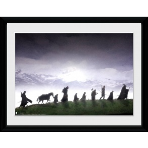 Lord of the Rings Fellowship Framed Collector Print