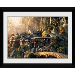 Lord of the Rings Fellowship of the Ring Framed Collector Print