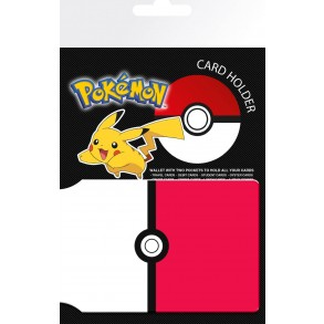 Pokemon Pokeball Travel Pass Card Holder