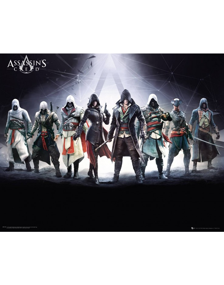 Mini Poster Assassins Creed Characters