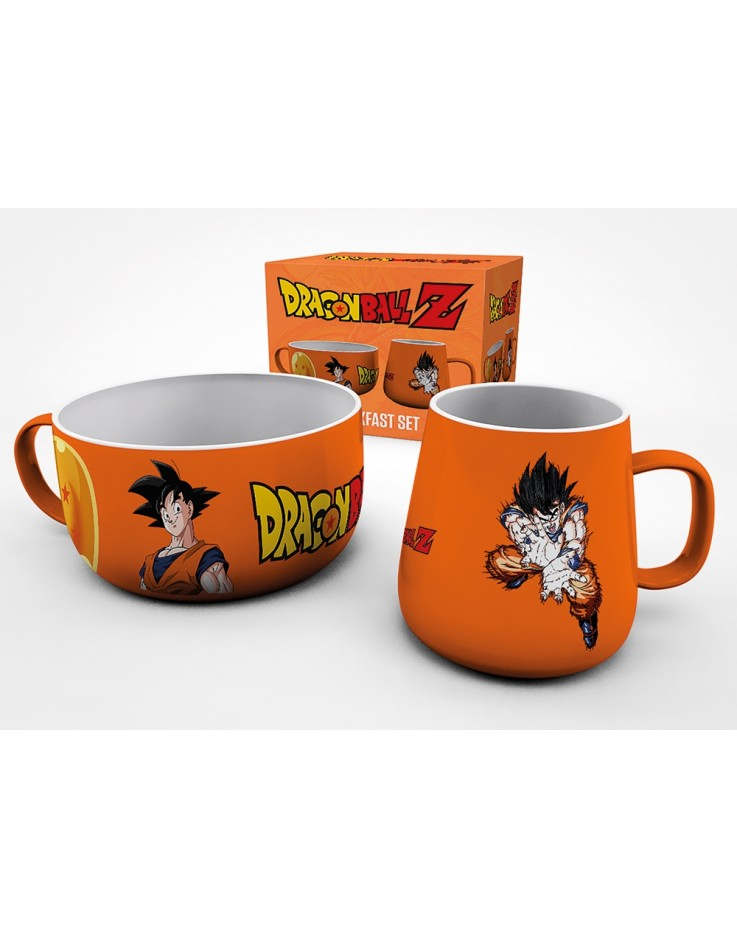 Dragon Ball Z Goku Breakfast Set