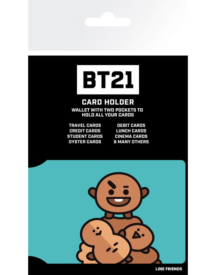 BT21 Shooky Card Holder