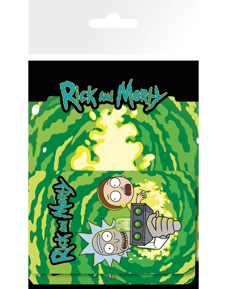 Rick and Morty Rick and Morty Luggage Card Holders