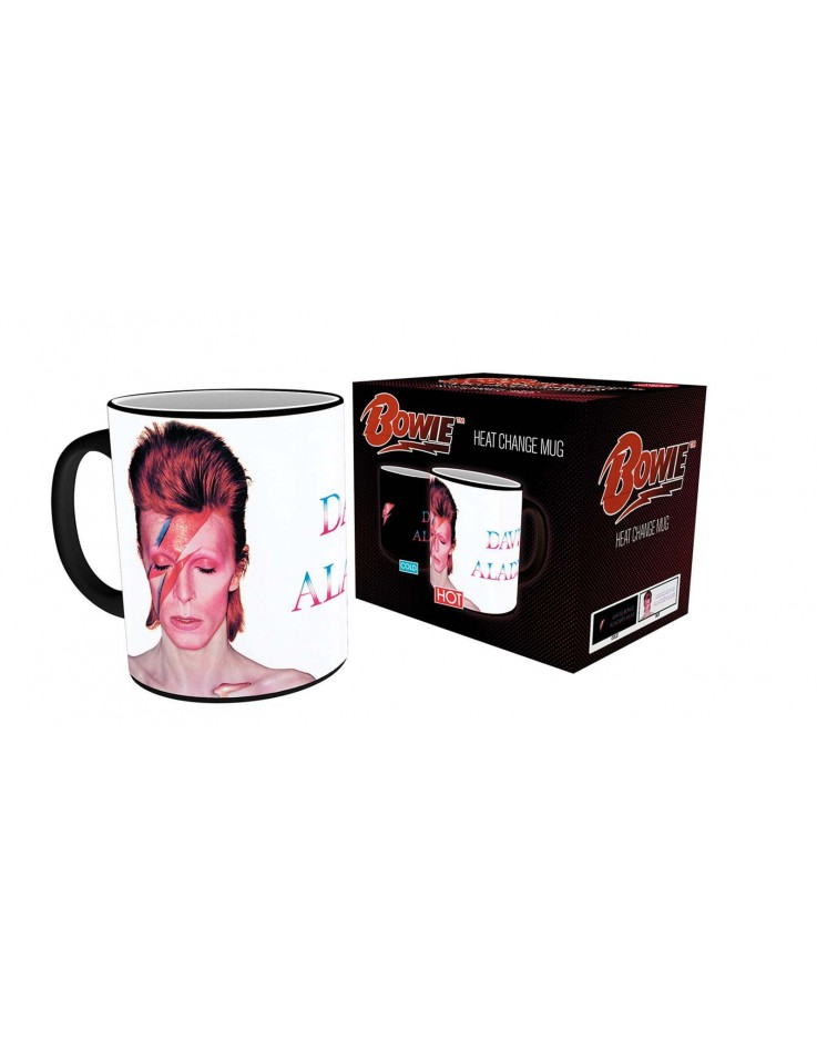 David Bowie Ziggy Stardust Heat Change Mug
