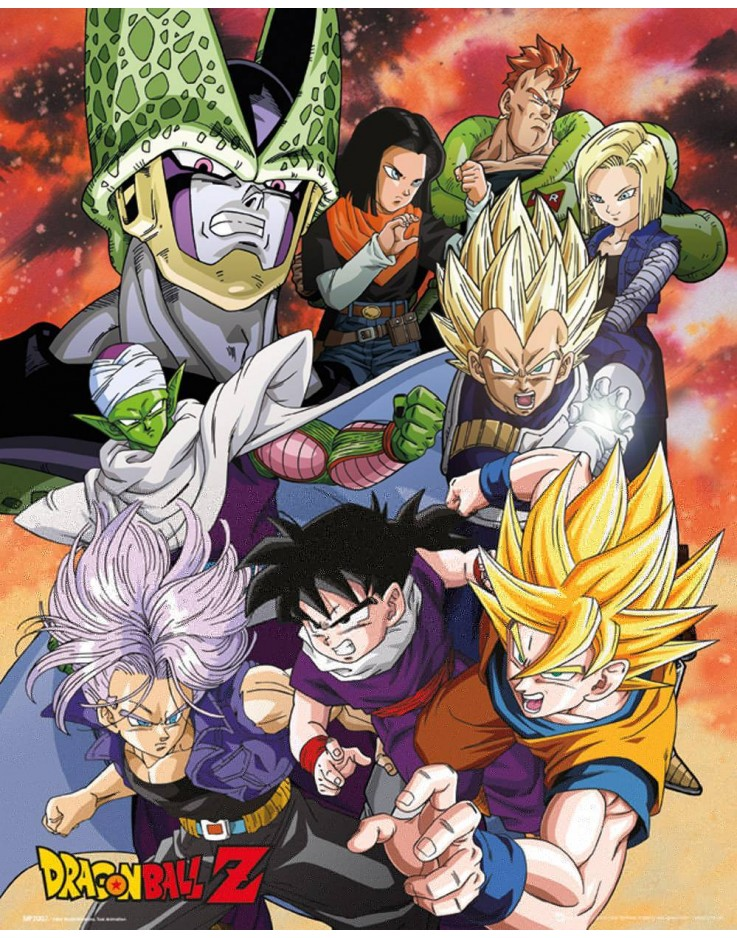 Mini Poster Dragon Ball Z Cell Saga