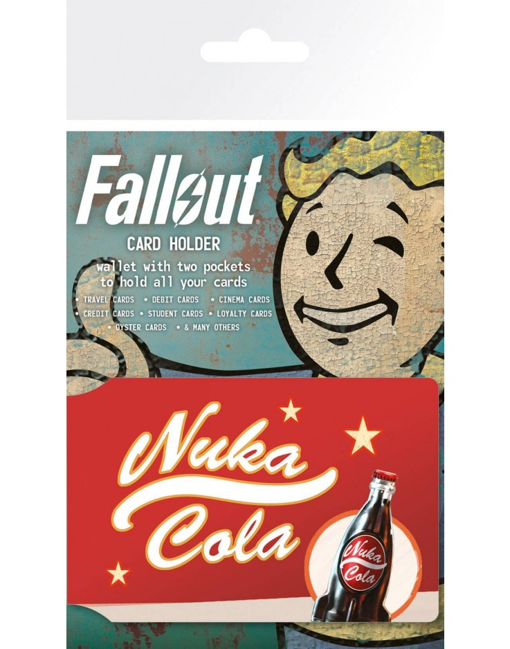 Porte Carte Fallout 4 Nuka Cola Advert