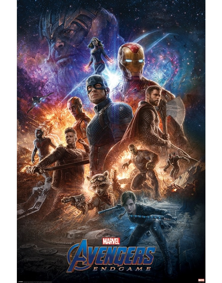 Avengers Endgame From The Ashes Maxi Poster