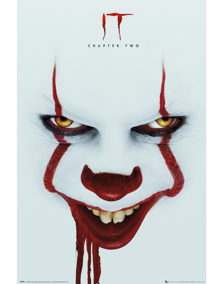 IT Chapter 2 Face Maxi Poster