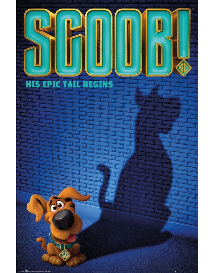 Scoob One Sheet Maxi Poster