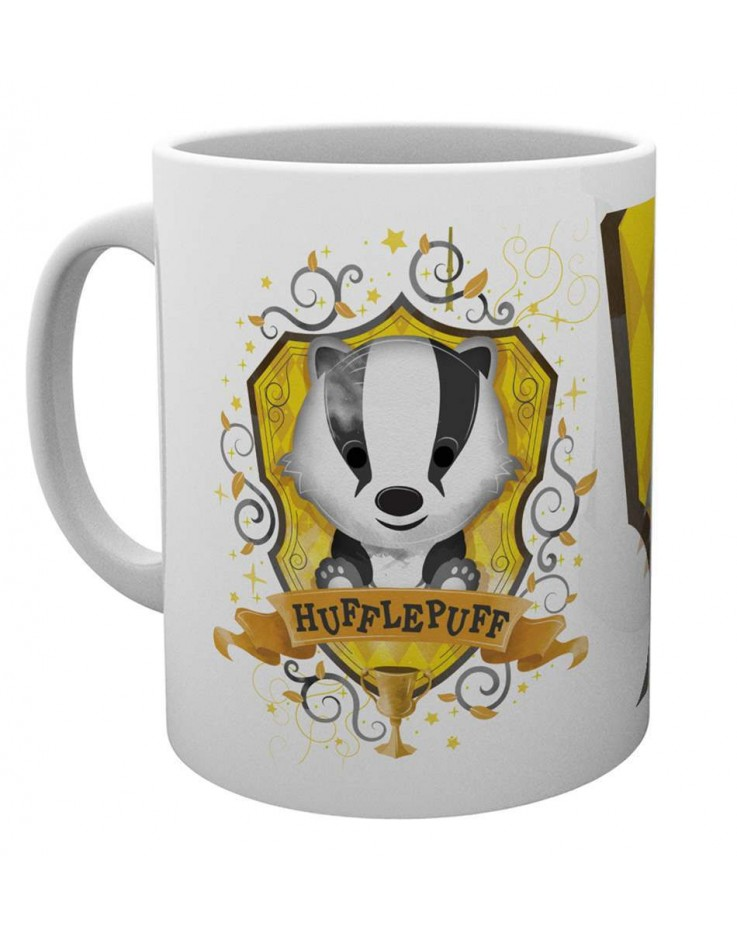 Harry Potter Hufflepuff Paint Mug