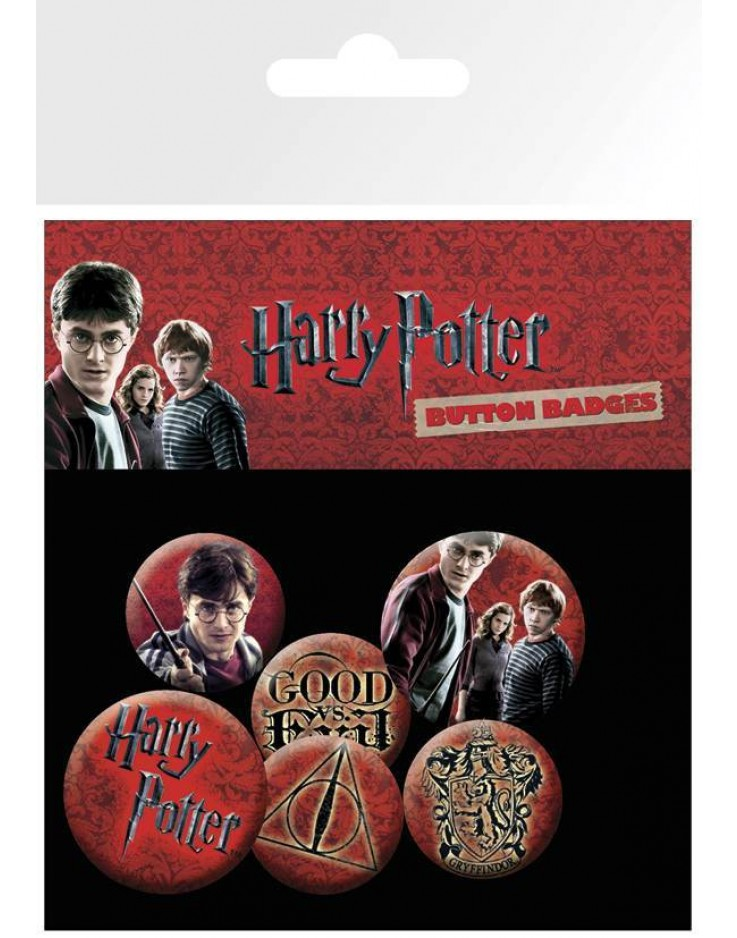 Set de Badges Harry Potter Icon Pack