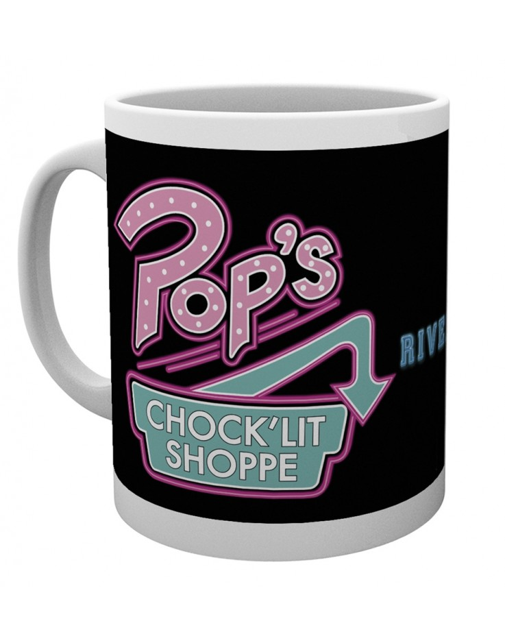 Riverdale Pops On Black Mug