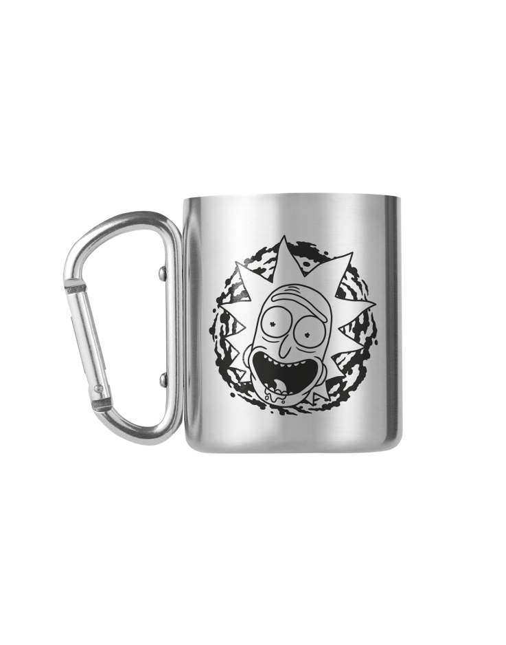 Rick and Morty Rick and Morty Carabiner Mug