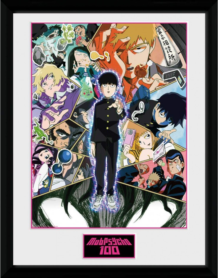 Photographie encadree Mob Psycho 100 Collage