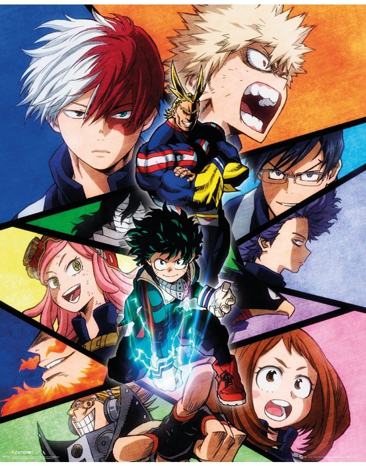 My Hero Academia Group Mini Poster