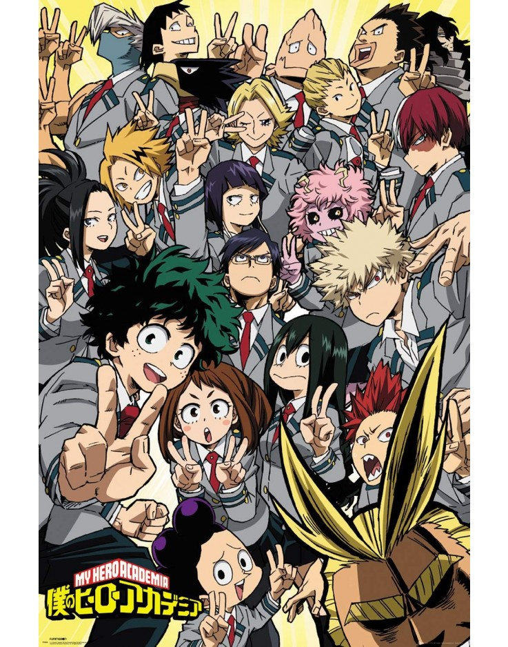 Affiche Maxi My Hero Academia School Compilation