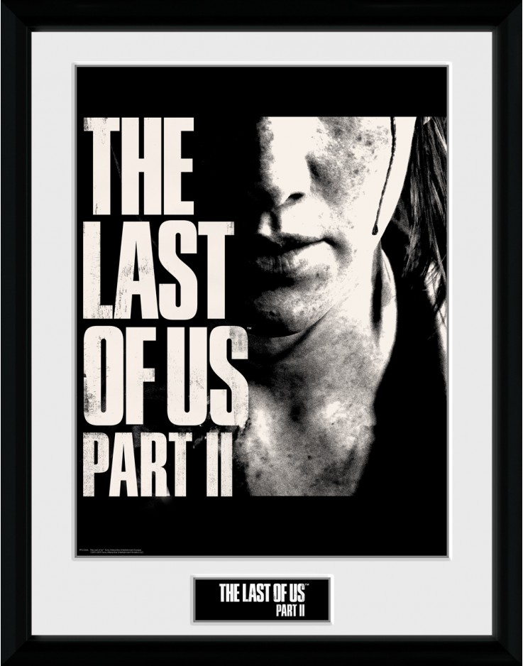 The Last of Us Part II Face Collector Print
