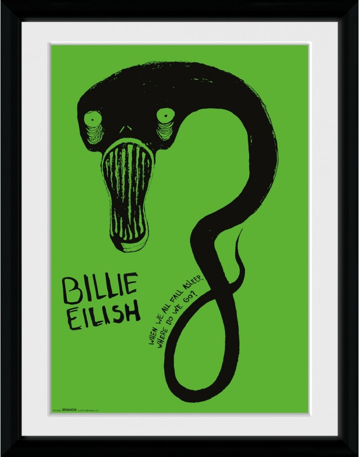 Billie Eilish Ghoul Collector Print