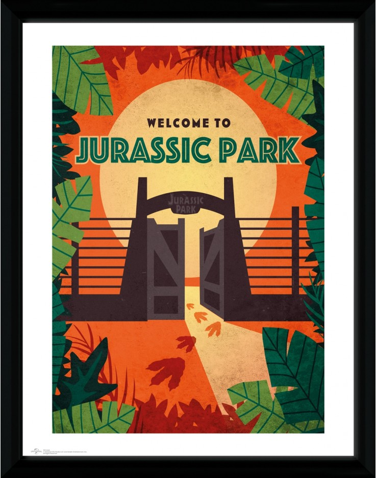 Jurassic Park Welcome Collector Print