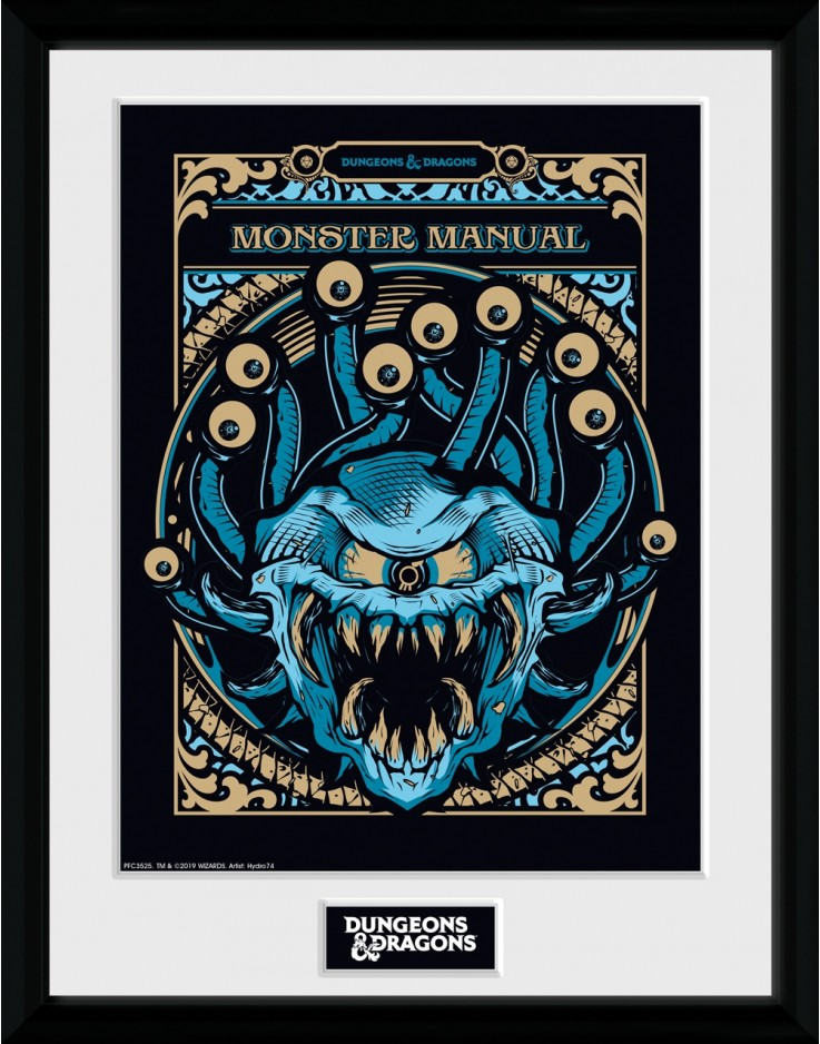Dungeons & Dragons Monster Manual Collector Print