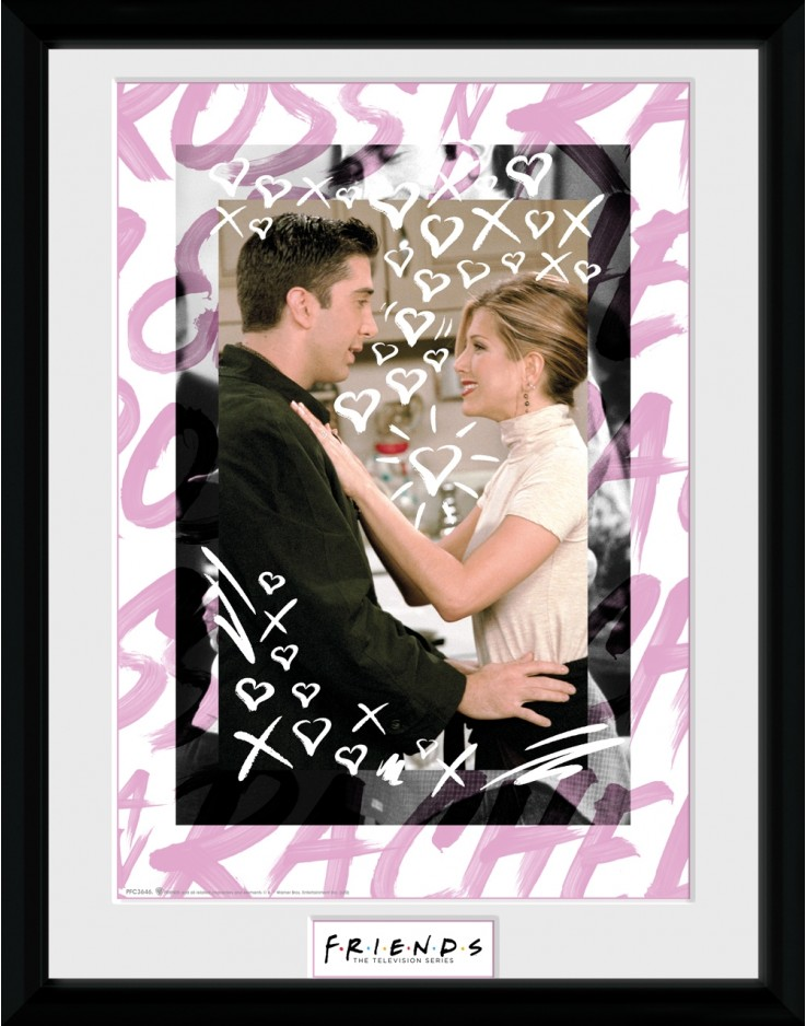 Friends Ross and Rachel Collector Print
