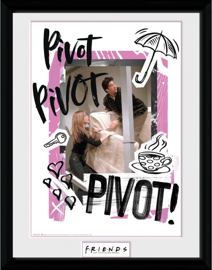 Friends Pivot Collector Print