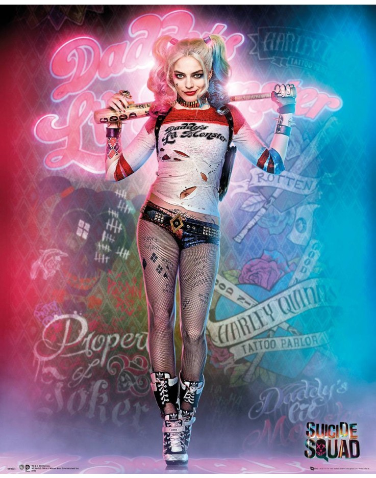 Affiche mini Suicide Squad Harley Quinn Stand