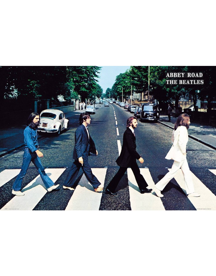 Maxi Poster The Beatles Abbey Road