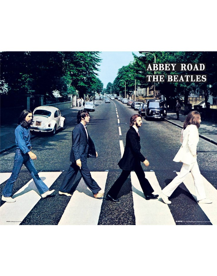 Mini Poster The Beatles Abbey Road