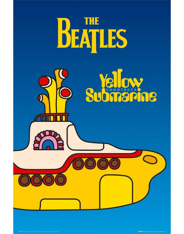 Maxi Poster The Beatles Yellow Submarine Cover