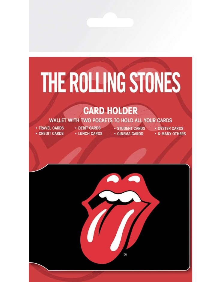 Porte Carte The Rolling Stones Only Rock and Roll