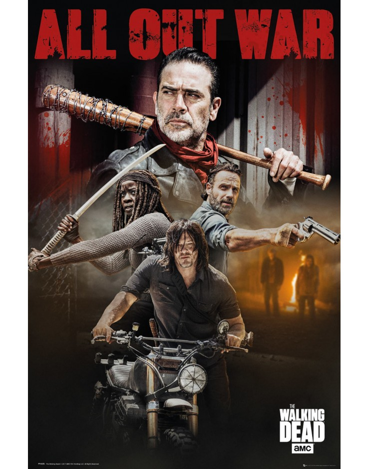 Affiche Maxi The Walking Dead Season 8 Collage