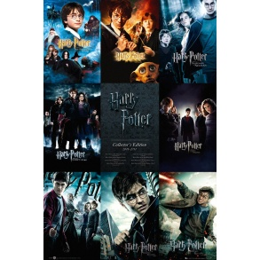 Affiche Maxi Harry Potter Collection
