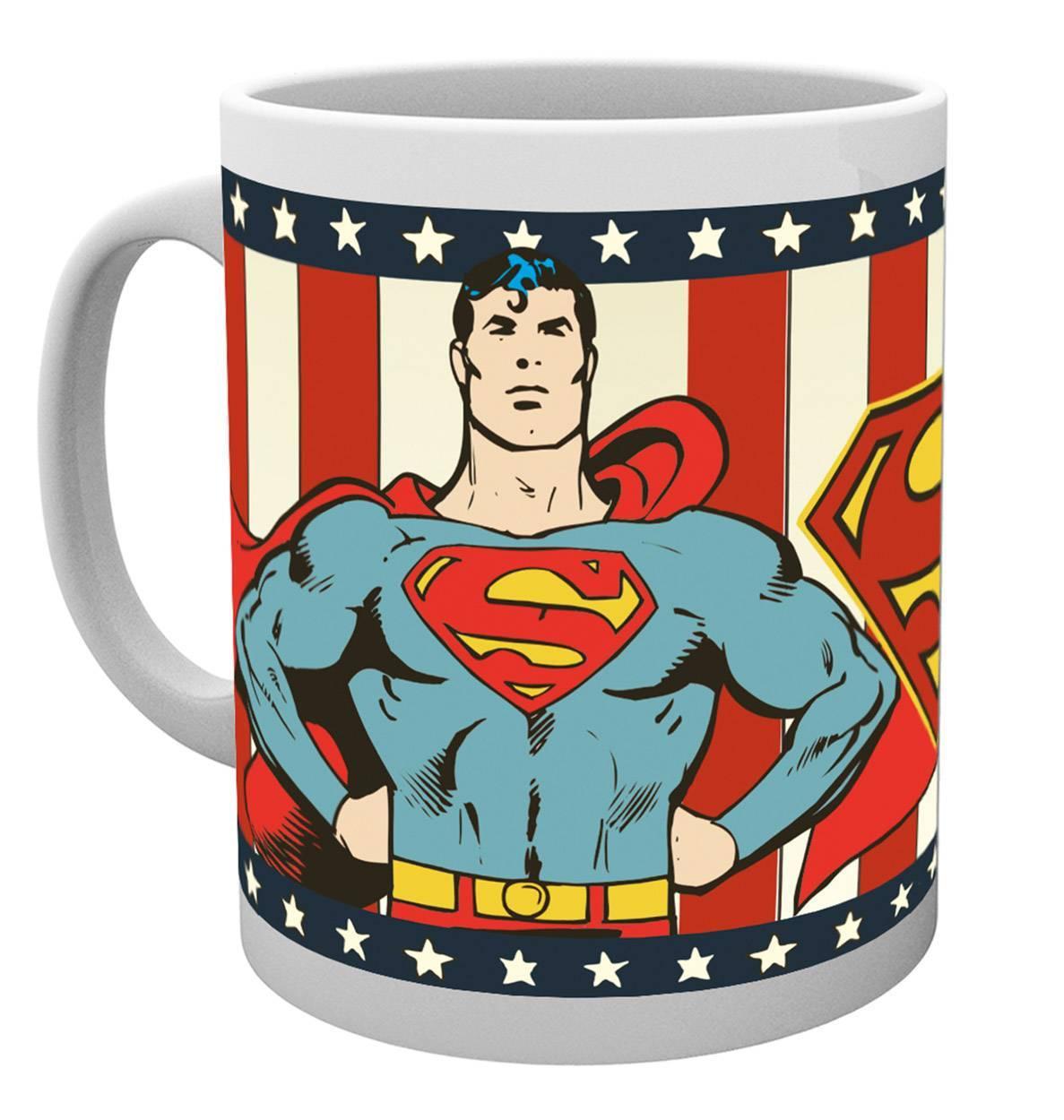 DC Comics Superman Vintage Mug