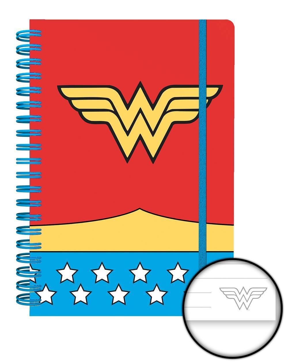Dc Comics Wonder Women Costume A5 Notebook Calendars