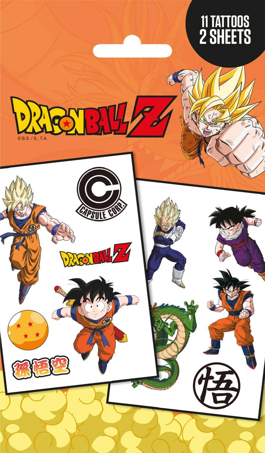 Dragon Ball Z Mix Tattoo Pack Review