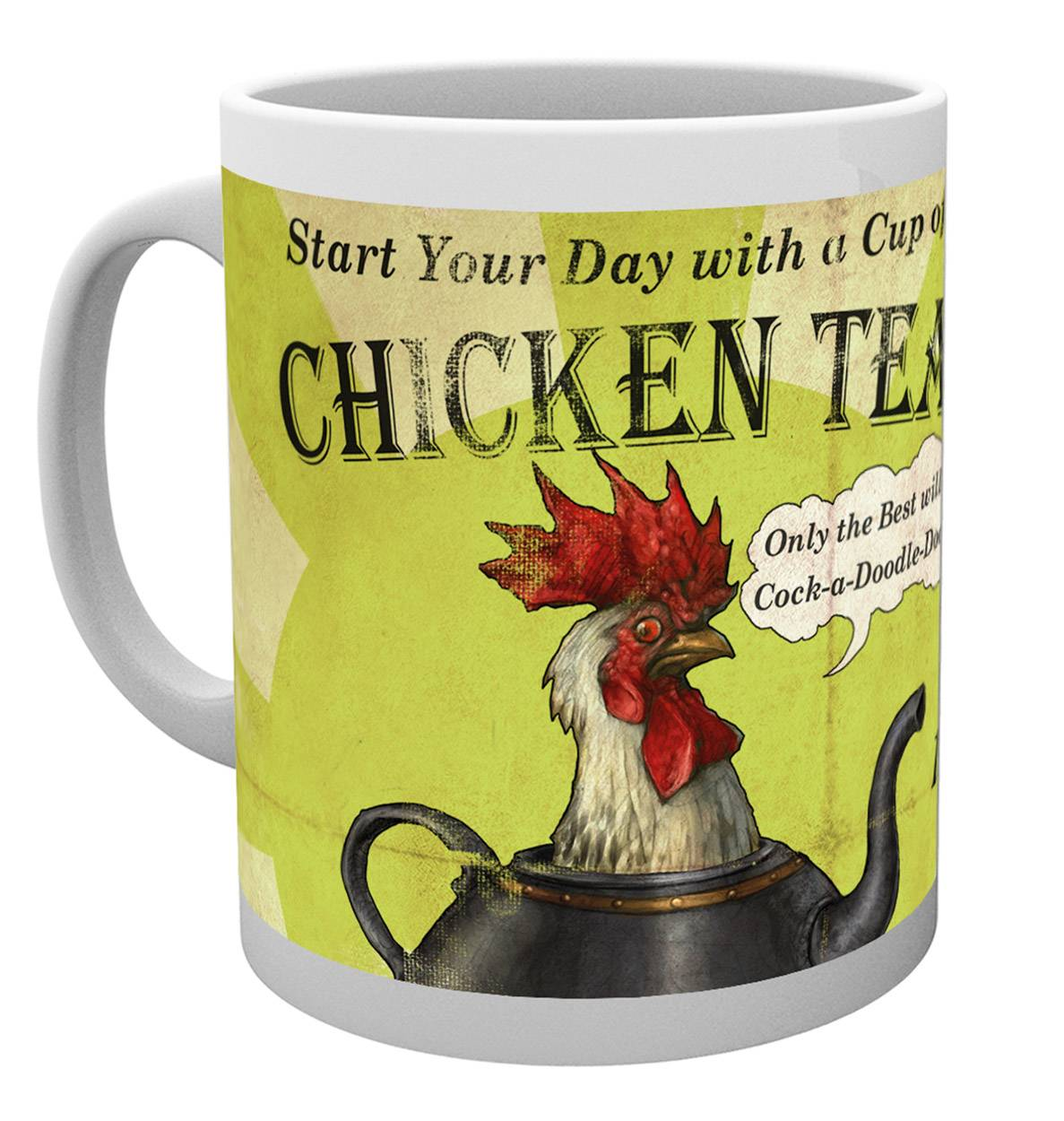 Fable Chicken Tea Mug Calendars Store Uk