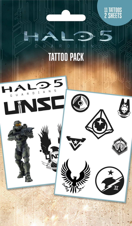 Halo 5 Mix Tattoo Pack