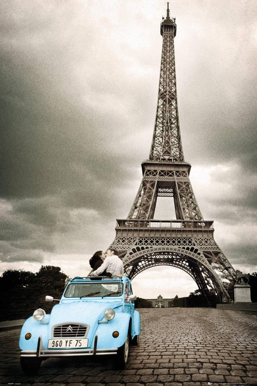 Paris Romance Maxi Poster
