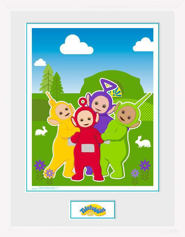 Teletubbies Time For Teletubbies Framed Collector Print