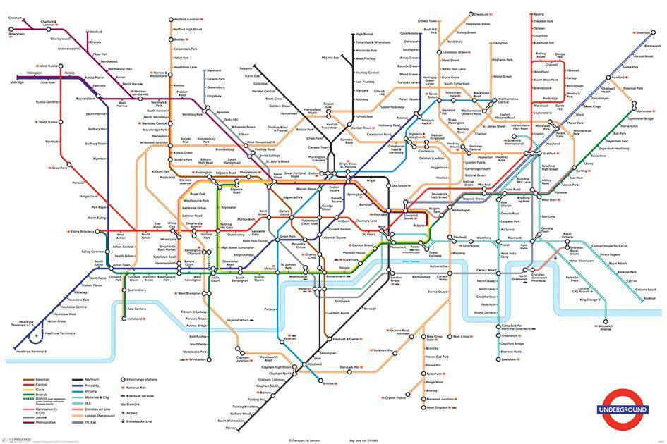 London Underground Maxi Poster