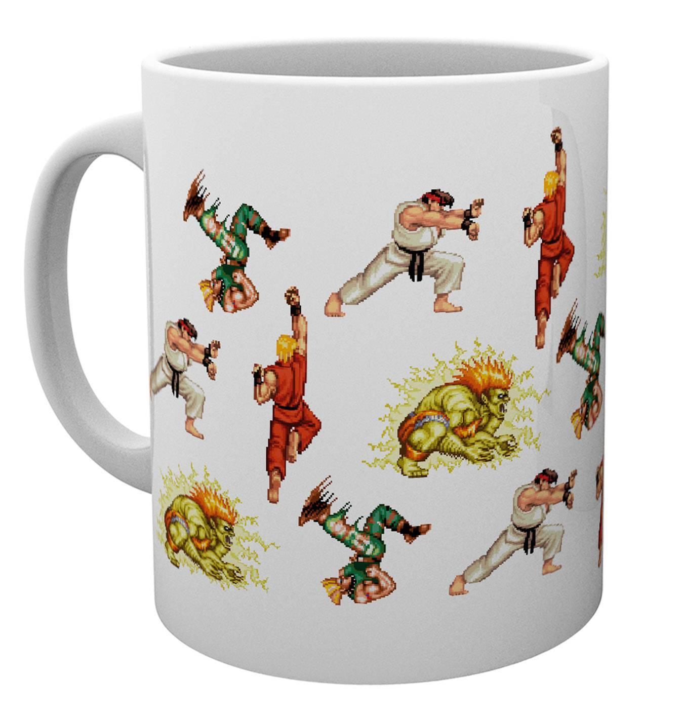 Street Fighter Sprites Mug Calendars Store Uk