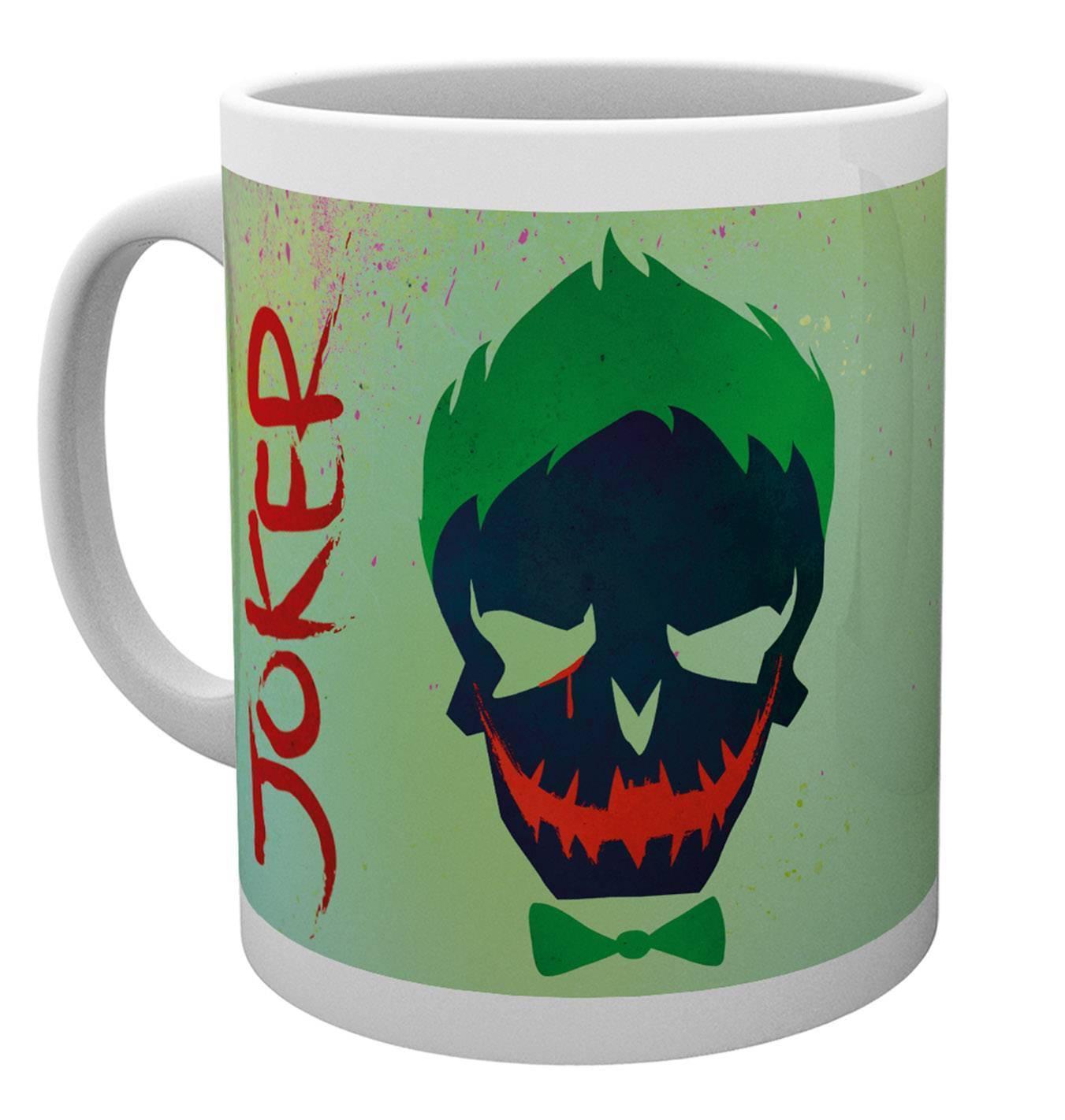 Suicide Squad Joker Skull Mug
