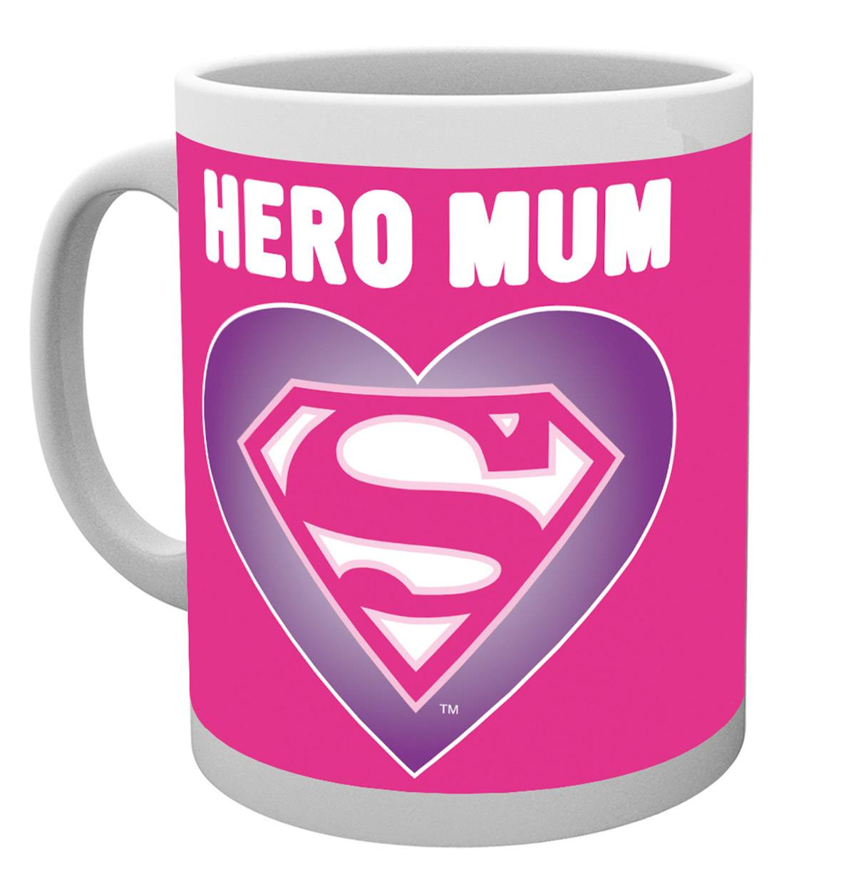Superman Heart Mug Calendars Store Uk
