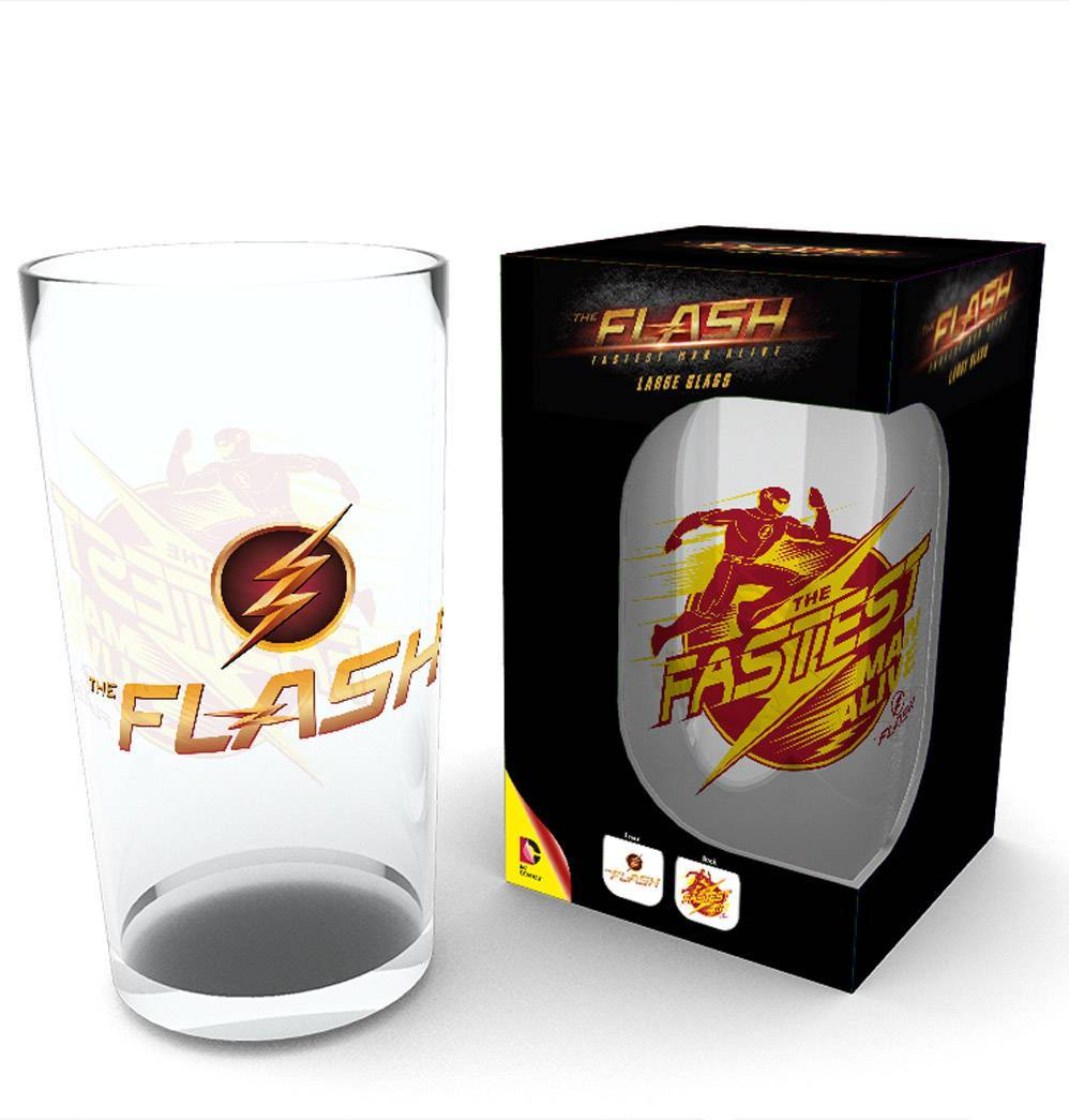 The Flash Logo Pint Glass