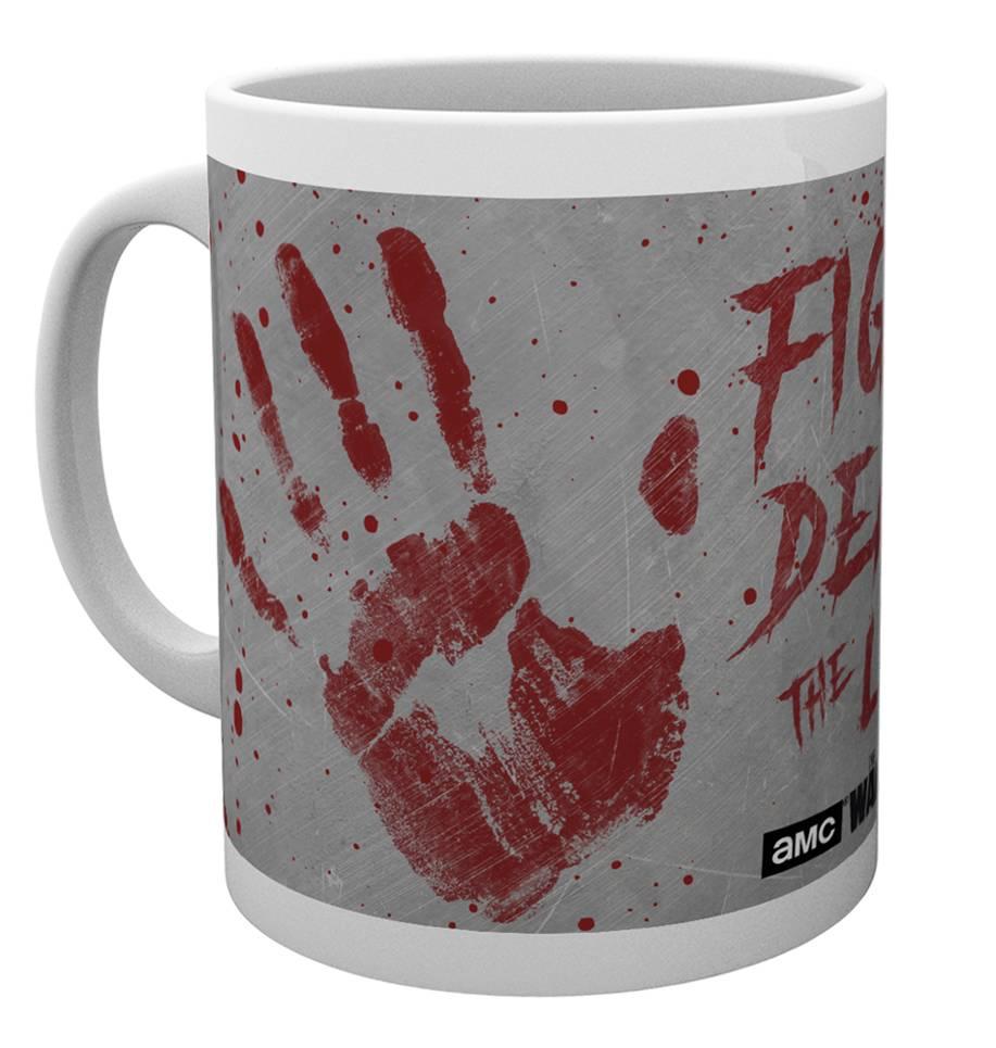The Walking Dead Hand Prints Mug Calendars Store Uk